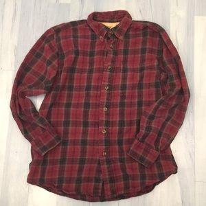 Outdoor Life Campside Flannel Shirt Mens Sz Medium